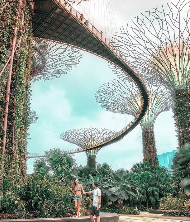 Inspirasi Wisata Traveling Singapore Garden by the Bay 0