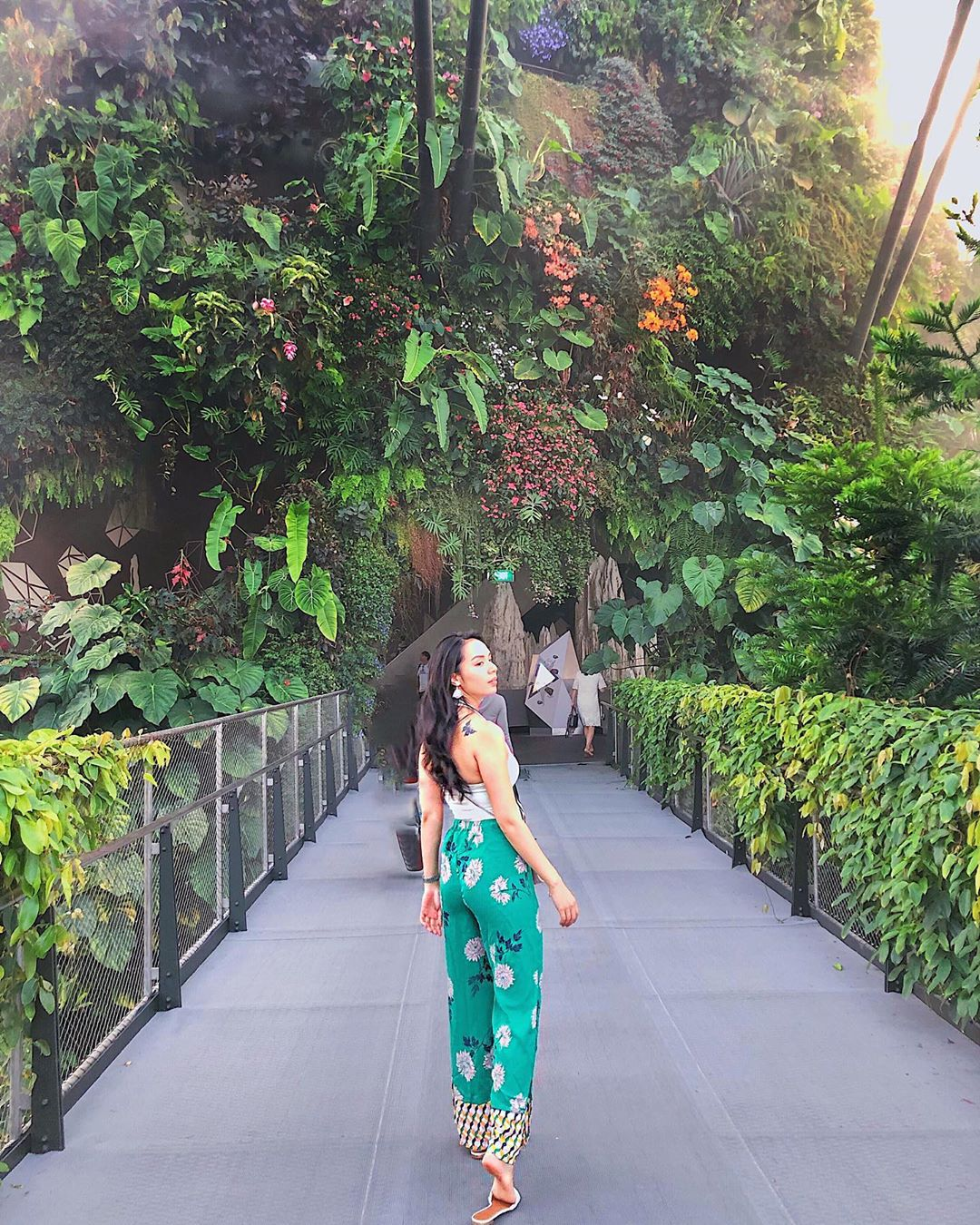 Inspirasi Wisata Traveling Singapore Garden by the Bay Cloud Forest 4