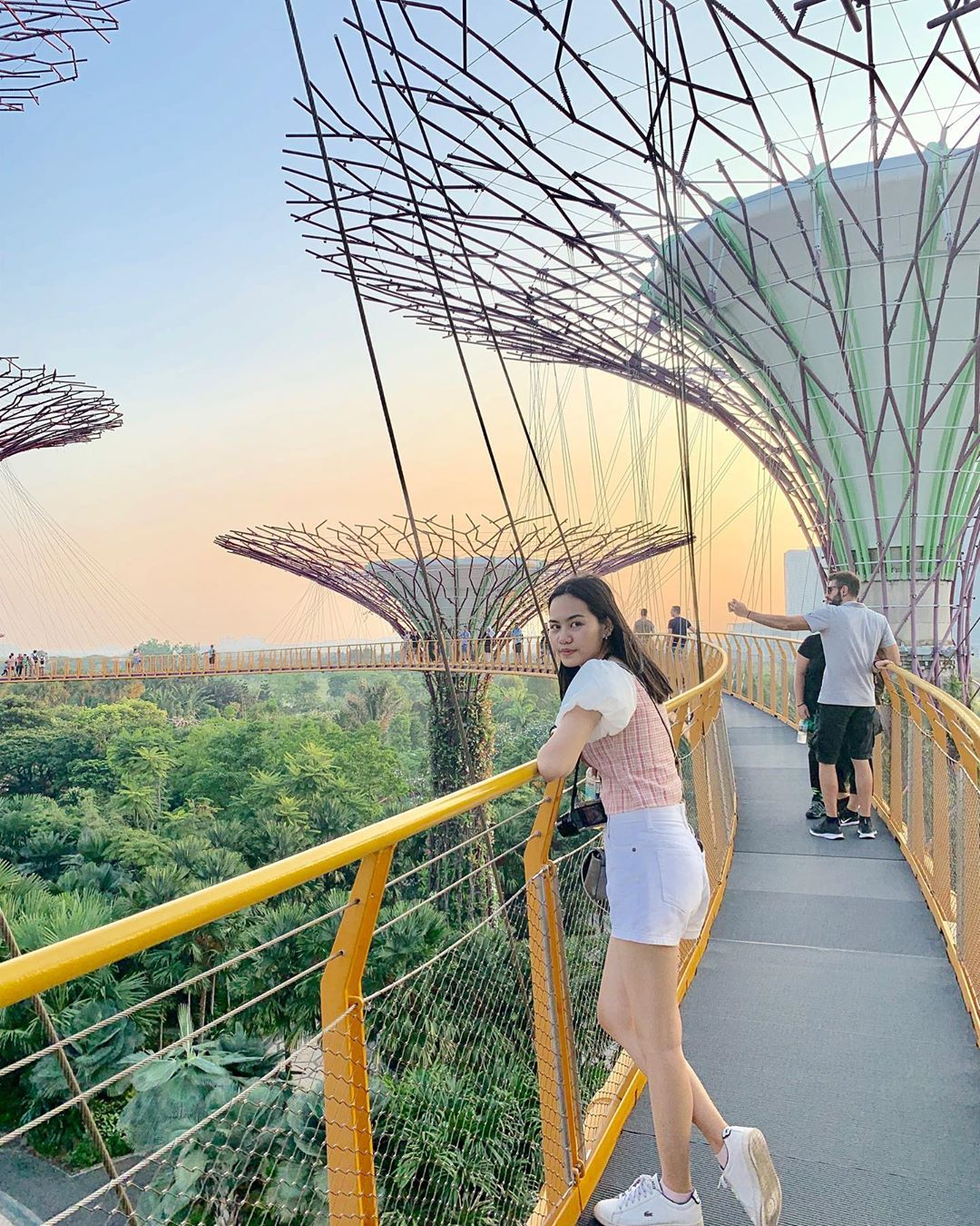 Inspirasi Wisata Traveling Singapore Garden by the Bay OCBC Skyway