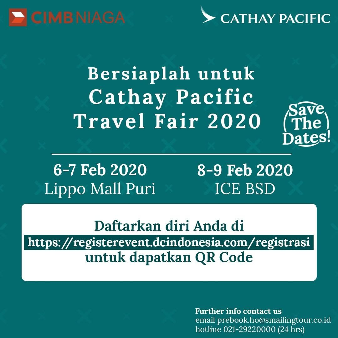 Cathay Pacific Travel Fair 2020 - Smailing Tour