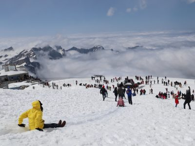 Winter Holiday ke Surga Puncak Ketinggian Switzerland Titlis Mountain
